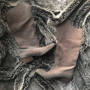 High Suede Naughty Monkey Heeled Boots